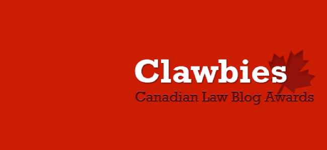 #Clawbies2013 Legal Technology